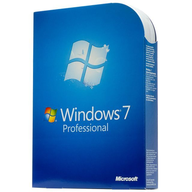 microsoft Microsoft Windows 7 Professional (x32/x64) BOX