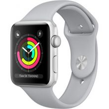 Apple Watch Series 3 42mm Aluminum Case with Sport Band (Silver/Fog)