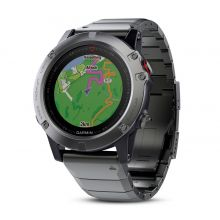Garmin Fenix 5X Sapphire with Metal Band - спортивные часы