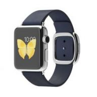 Умные часы Apple Watch 38mm Stainless Steel Case with Midnight Blue Modern Buckle