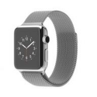 Умные часы Apple Watch 38mm Stainless Steel Case with Milanese Loop