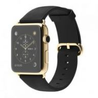Умные часы Apple Watch 38mm Stainless Steel Case with Black Classic Buckle Gold Limited Edition