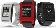 """асы Pebble E Paper Watch (Black) oem"