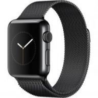 Умные часы Apple Watch 38mm Stainless Steel Case with Milanese Loop Space Black
