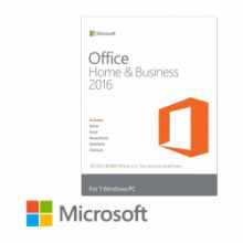 Программное обеспечение Microsoft Office 2016 Home and Business (x32/x64) BOX