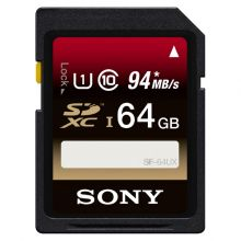 Карта памяти Sony SF-64UX (94Mb/s) SDHC UHS-I 64GB