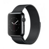 Умные часы Apple Watch Series 2 42mm Space Black Stainless Steel Case with Space Black Milanese Loop