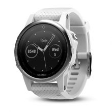 Garmin Fenix 5S White/Carrara White Band - спортивные часы