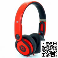 Monster Beats by Dr. Dre Mixr David Guetta (Red)