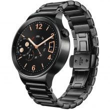 Huawei Watch Stainless Steel with Stainless Steel Link Band (Black) - умные часы для Android