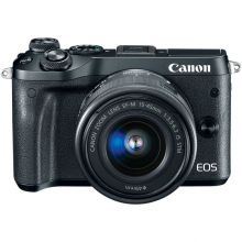 Фотоаппарат Canon EOS M6 kit 15-45 IS STM (Black)