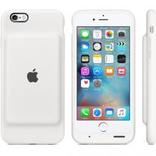 Чехол Apple Smart Battery Case для iPhone 6S (White)