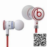 Monster Beats by Dr.Dre iBeats ControlTalk (White)