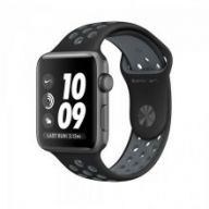 Умные часы Apple Watch Series 2 Nike+ 38mm Space Gray Aluminum Case with Black/Cool Gray Nike Sport Band