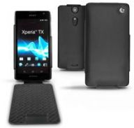 Кожаный чехол Noreve Tradition для Sony Xperia TX (Ebony Black)