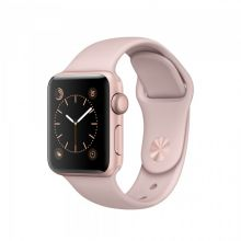 Умные часы Apple Watch Series 1 38mm Rose Gold Aluminum Case with Pink Sand Sport Band