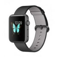Умные часы Apple Watch Series 2 38mm Space Gray Aluminum Case with Black Woven Nylon